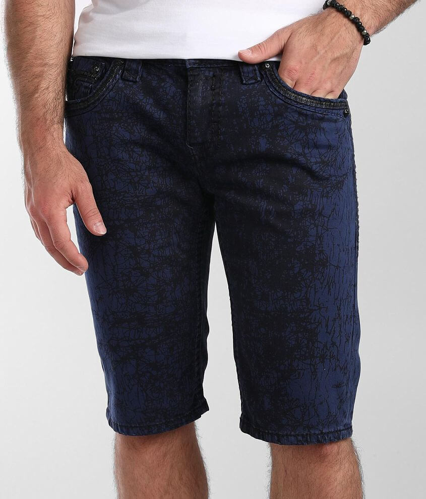 Rock Revival Nyle Stretch Short front view