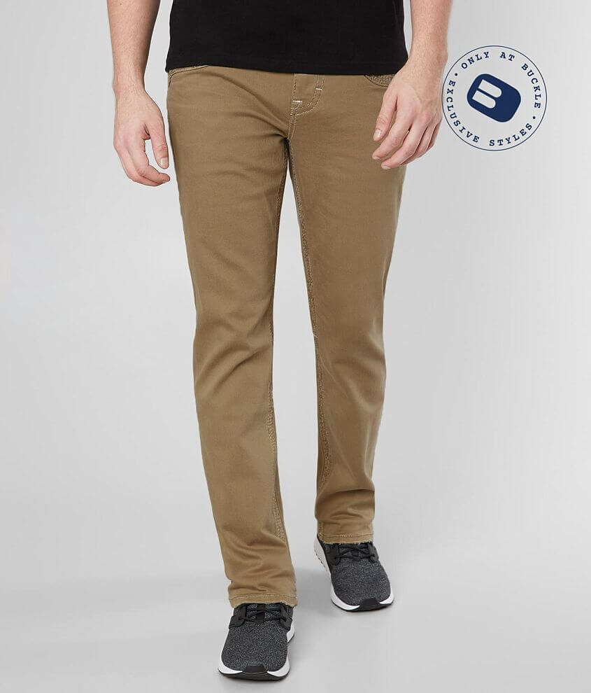 Rock Revival Creston Straight Stretch Twill Pant front view