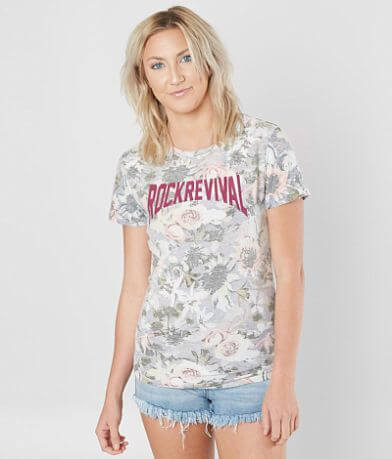 Rock Revival Floral T-Shirt