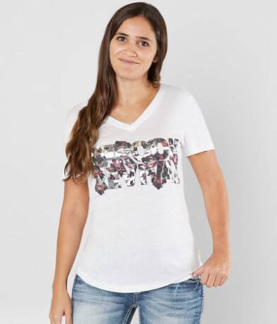 Rock Revival Foiled Floral T-Shirt
