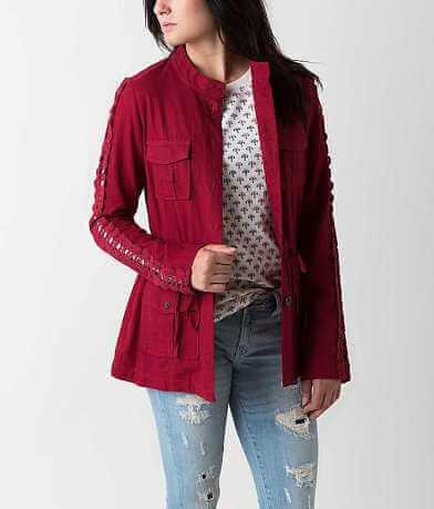 Stoosh Linen Blend Jacket