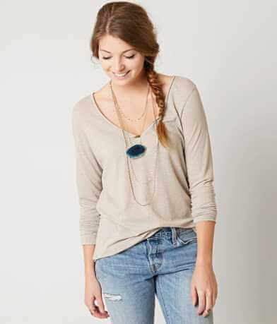 BKE Heathered Top