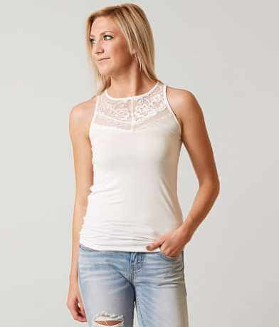 red by BKE Lace Tank Top