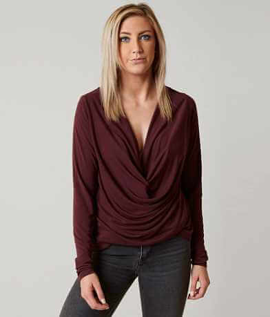 red by BKE Knotted Top
