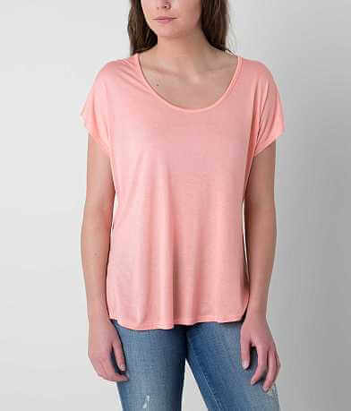 red by BKE Scoop Neck Top