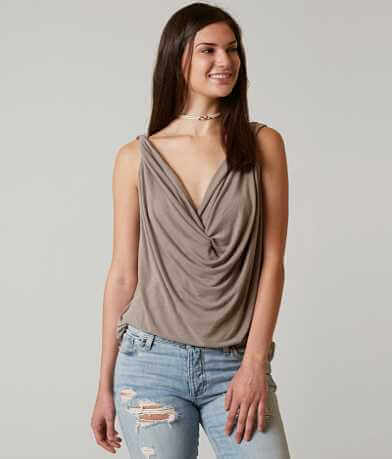 red by BKE V-Neck Tank Top