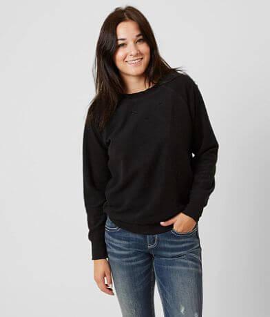 Gilded Intent Raw Edge Sweatshirt