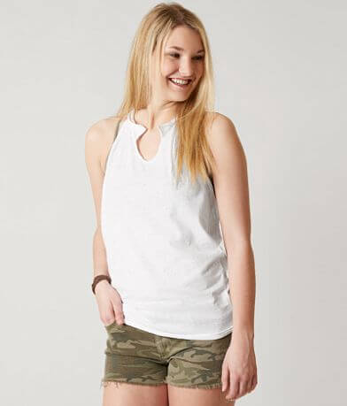 Gilded Intent Knotted Tank Top