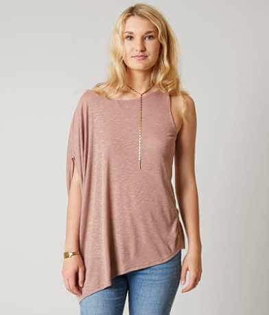 Gilded Intent Asymmetrical Top