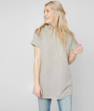 Gilded Intent Hooded Tunic Sweatshirt