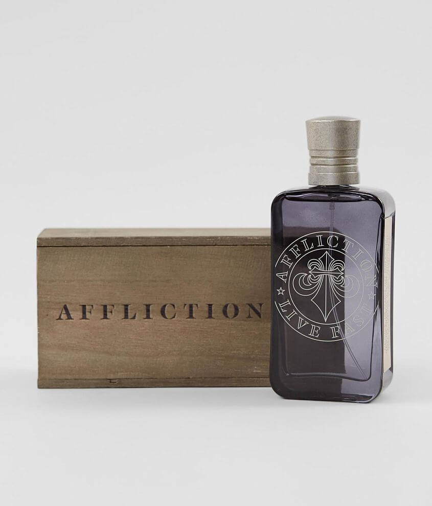 Affliction Live Fast Cologne front view