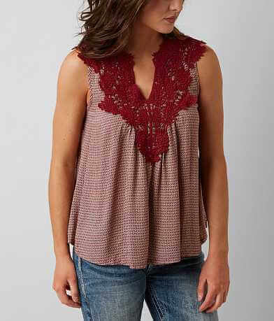 Solitaire Printed Tank Top