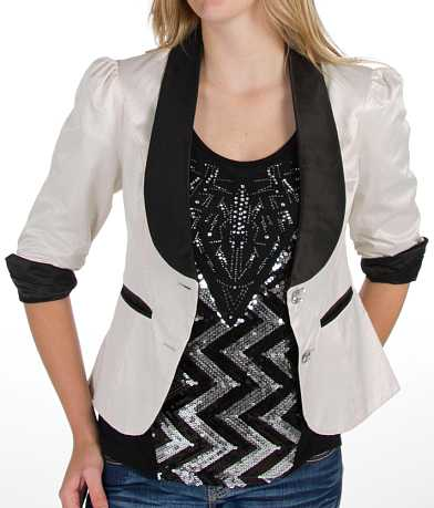 BKE Perforated Blazer