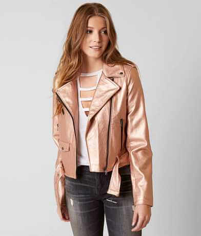 BNCI Metallic Moto Jacket