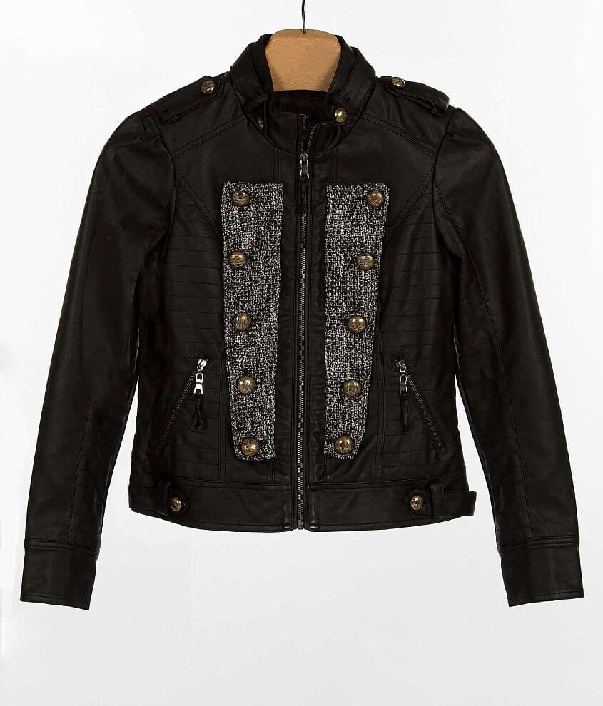 Blanc Noir Military Jacket front view
