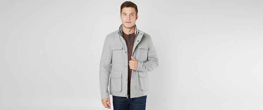 BKE Wool Blend Jacket front view