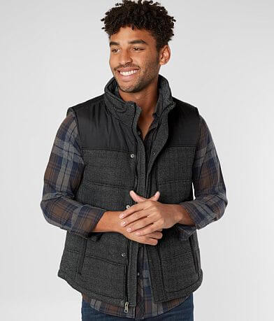 BKE Pieced Herringbone Vest