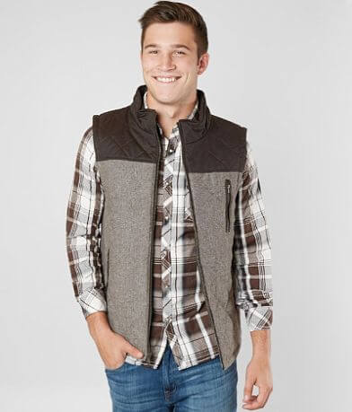 BKE Antique Quilted Vest