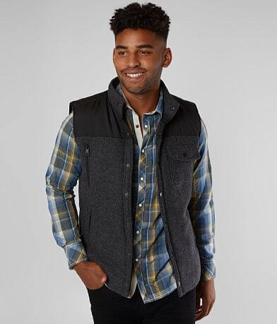 BKE Mixed Media Vest