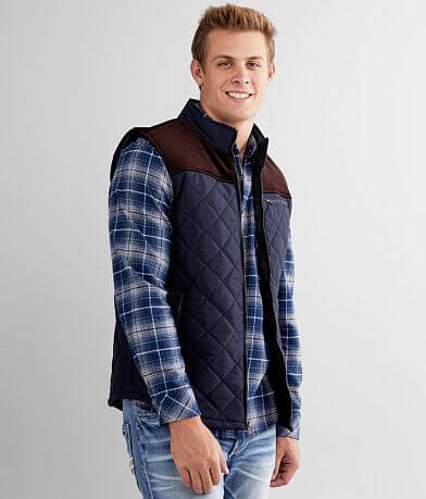 Outpost Makers Pieced Corduroy Vest