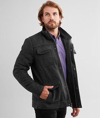 J.B. Holt Pieced Wool Blend Coat