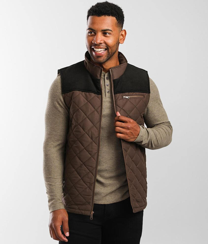 Outpost Makers Pieced Puffer Vest front view