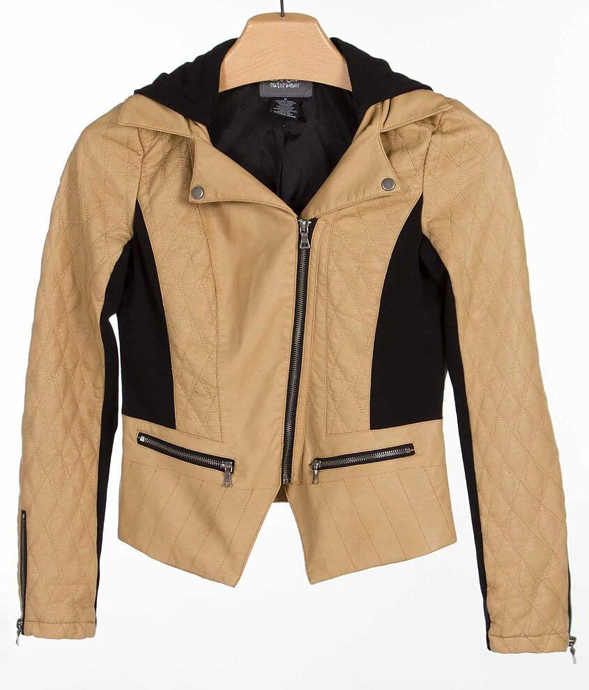 BKE Asymmetrical Jacket front view