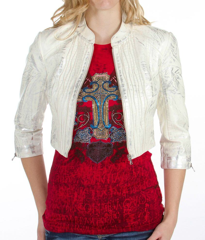 BKE Cropped Jacket front view