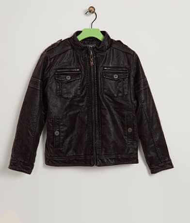 Boys - Buckle Black Everest Jacket