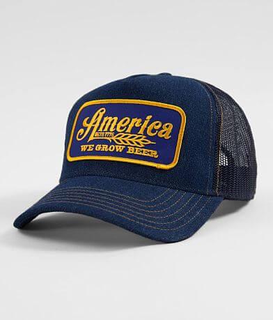 Rural Cloth America We Grow Beer Trucker Hat