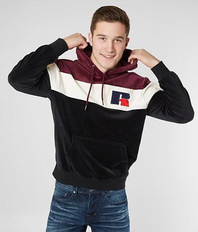 Russell Athletic® Velour Hooded Sweatshirt