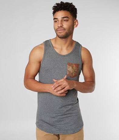 Rustic Dime French Terry Tank Top
