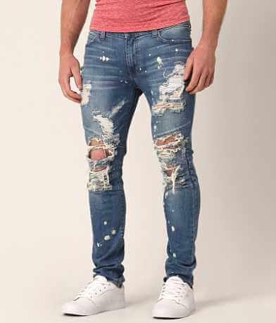 Rustic Dime Biker Taper Stretch Jean