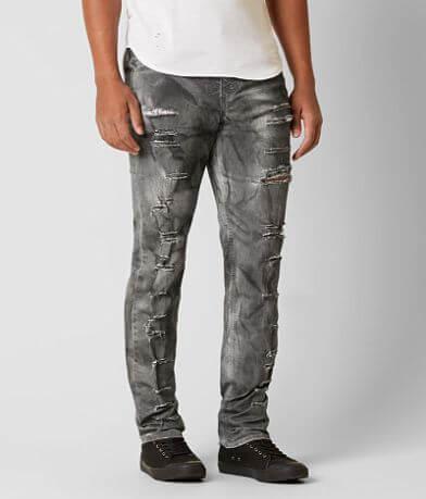 Rustic Dime Shredded Stretch Jean