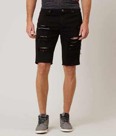 Rustic Dime Shredded Stretch Short
