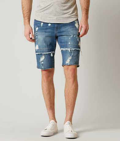 Rustic Dime Denim Stretch Short