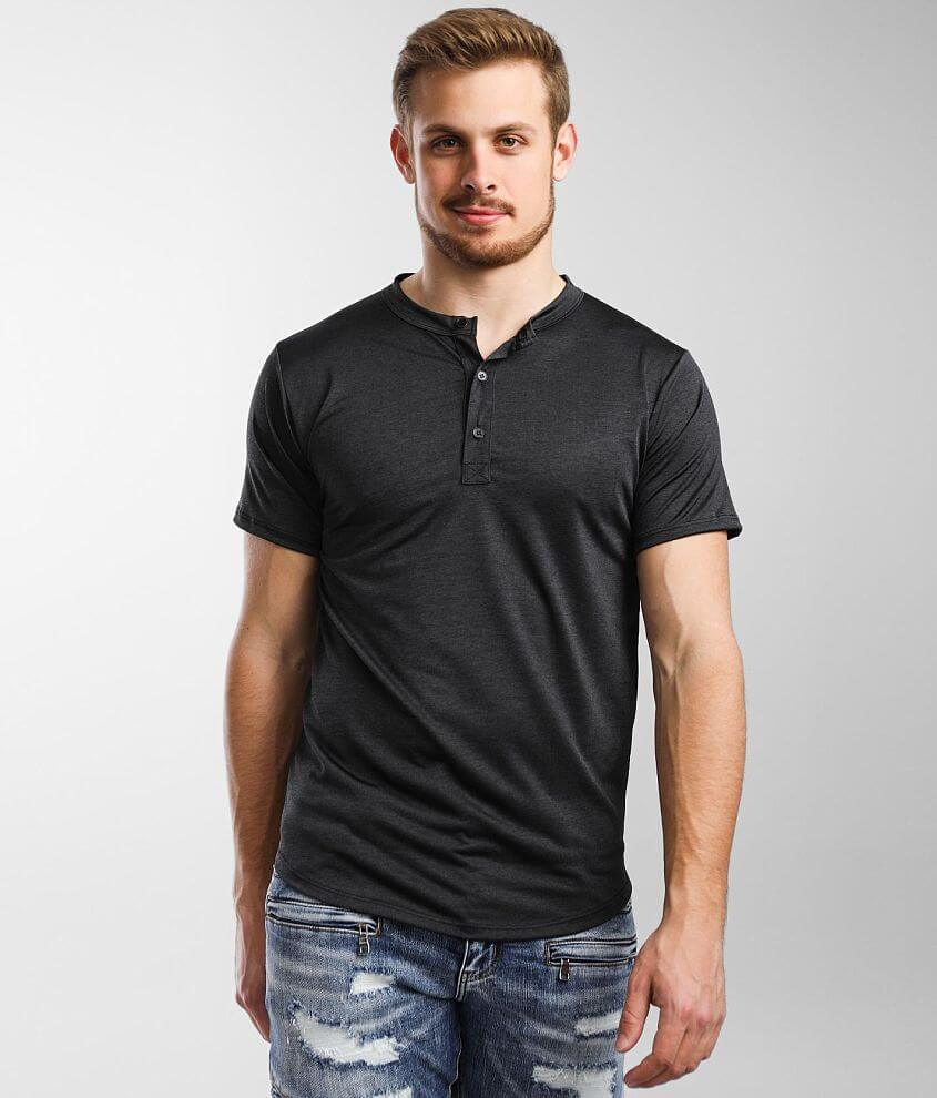 Rustic Dime Performance Henley front view