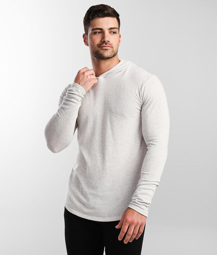 Rustic Dime Heathered Hoodie front view