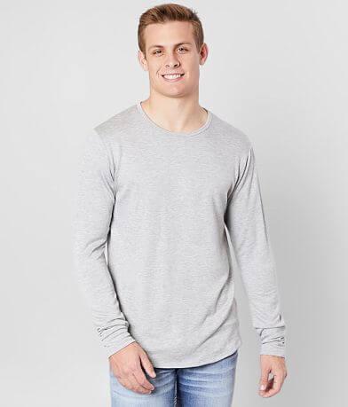 Rustic Dime Scallop Long Body T-Shirt