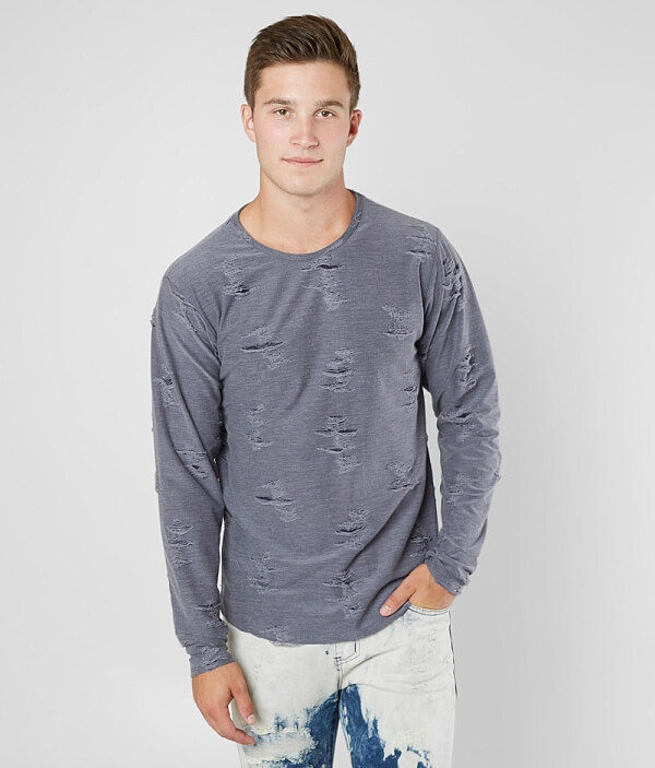 Shredded Stretch Rustic T Dime Shirt H8PUqU5x