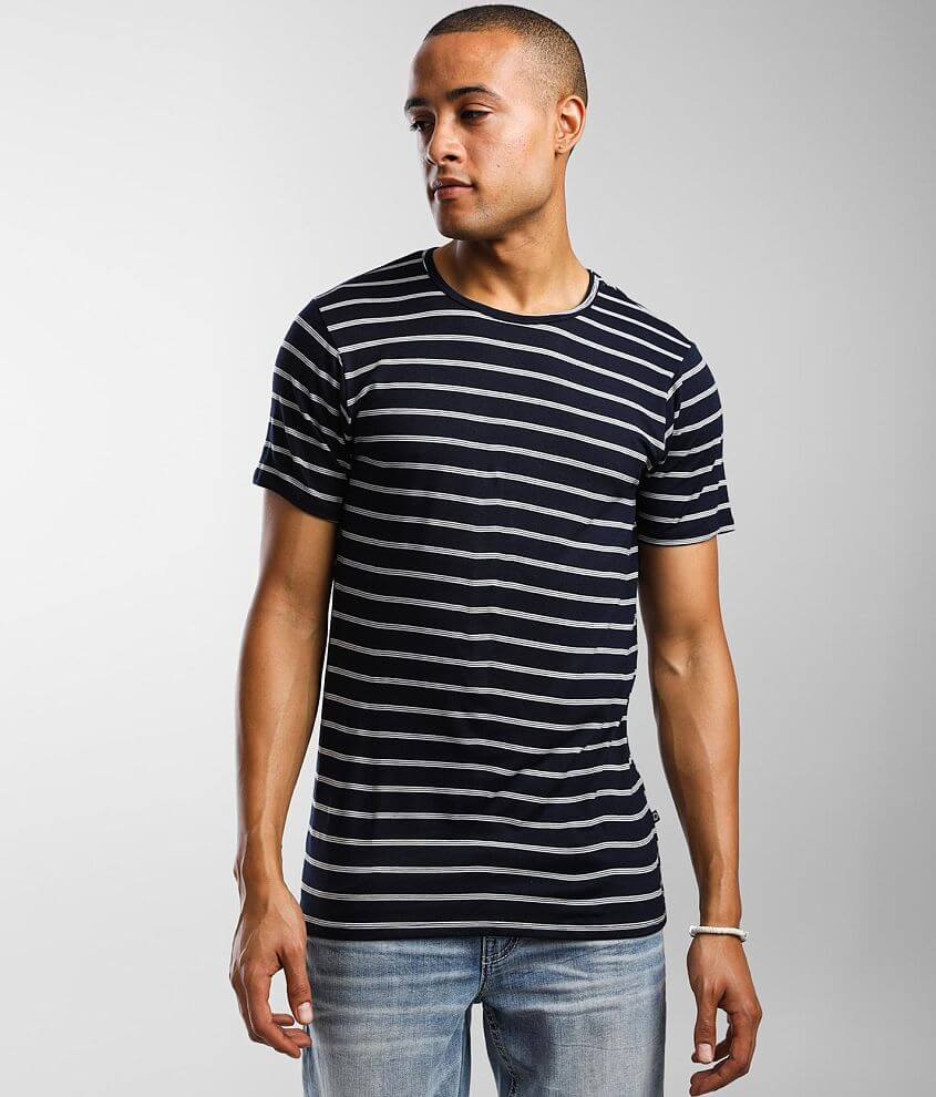 Rustic Dime Striped T-Shirt front view
