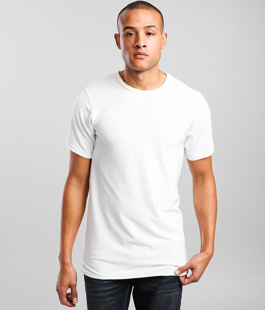 Rustic Dime Velvet Long Body T-Shirt front view