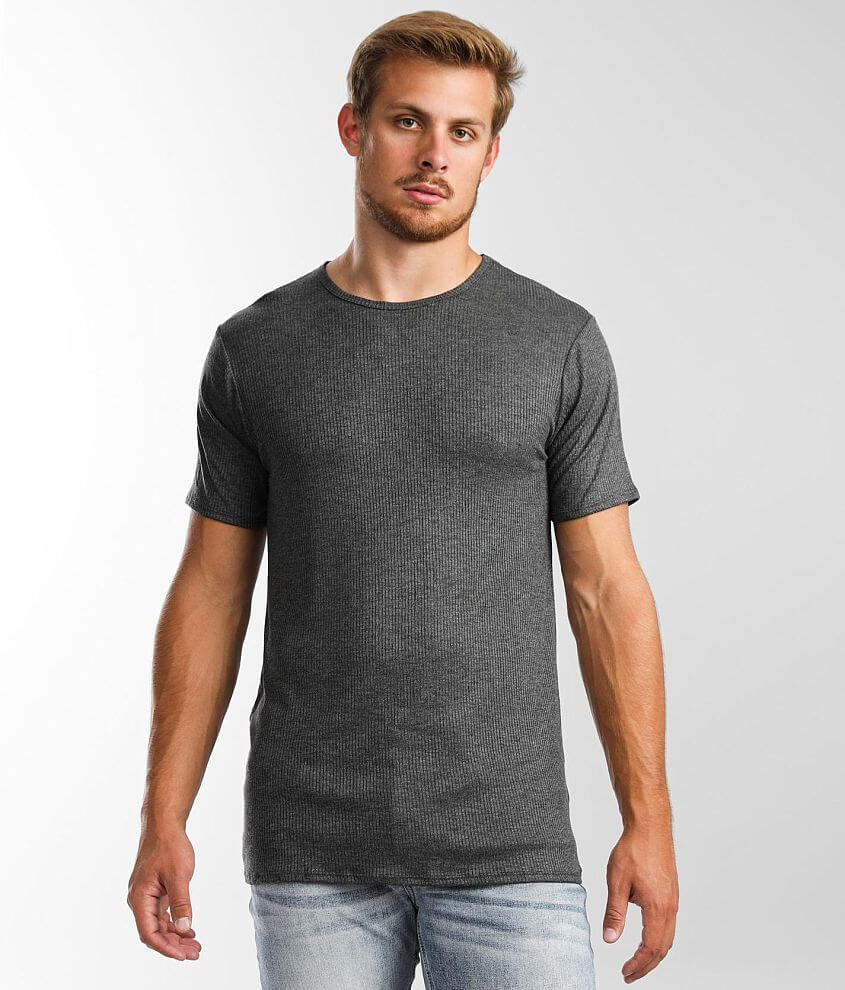 Rustic Dime Ribbed T-Shirt front view