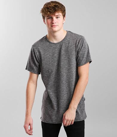 Rustic Dime Ribbed Long Body T-Shirt