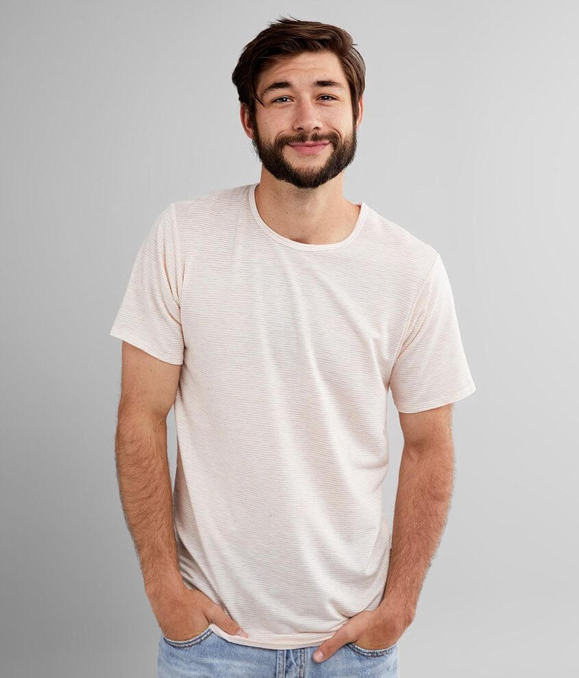 Rustic Dime Marled Stripe T-Shirt front view