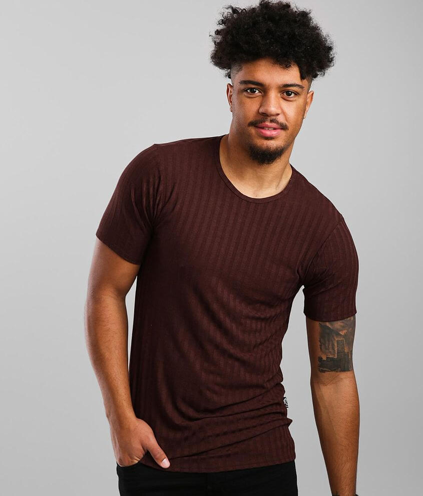 Rustic Dime Wide Ribbed T-Shirt front view