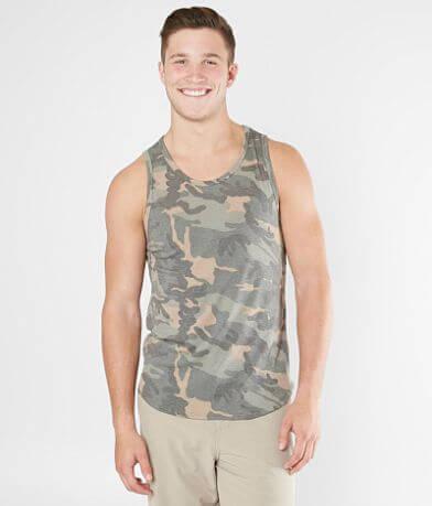 Rustic Dime Camo Long Body Tank Top