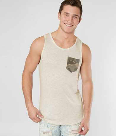 Rustic Dime Long Body Tank Top