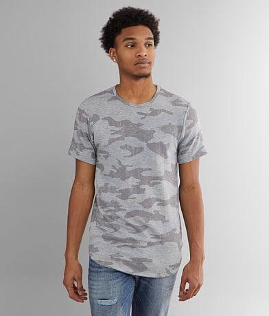 Rustic Dime Fleece Lined Camo T-Shirt
