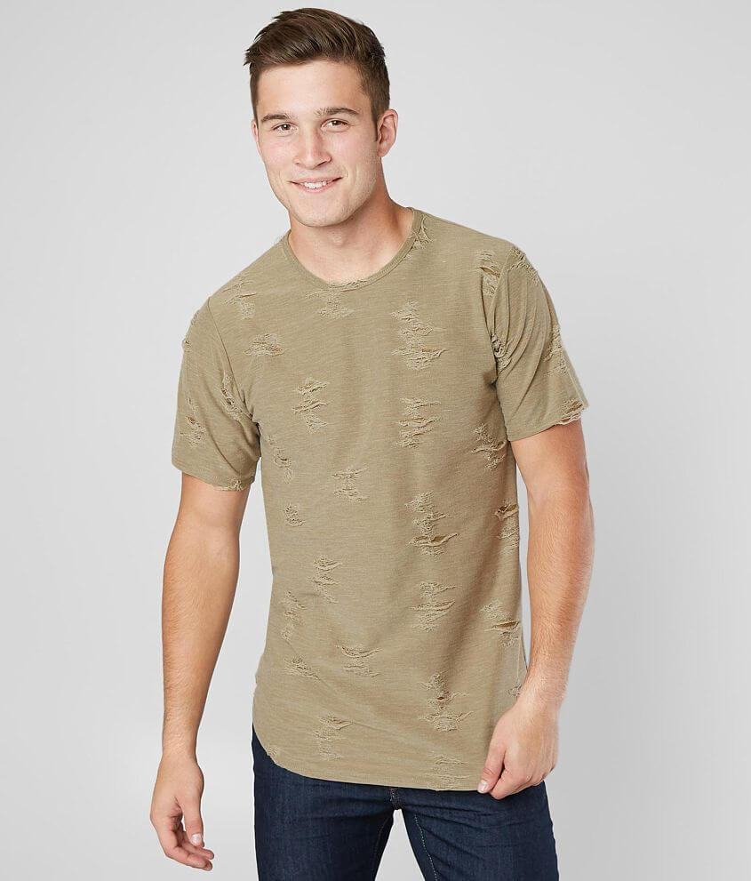 Rustic Dime Shredded T-Shirt front view